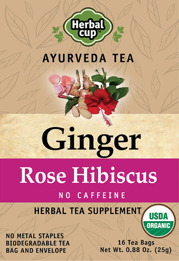 Ginger - Rose Hibiscus-Front